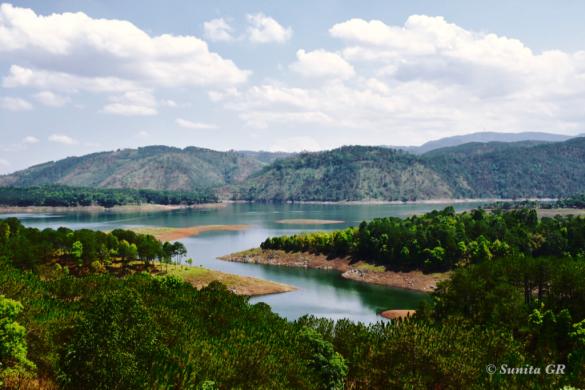 #umiamlake, #shillong, #meghalaya, #india, #travel, #serenity, #travelphotography